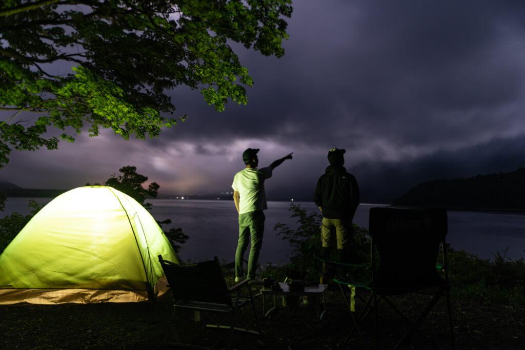 本栖湖キャンプ